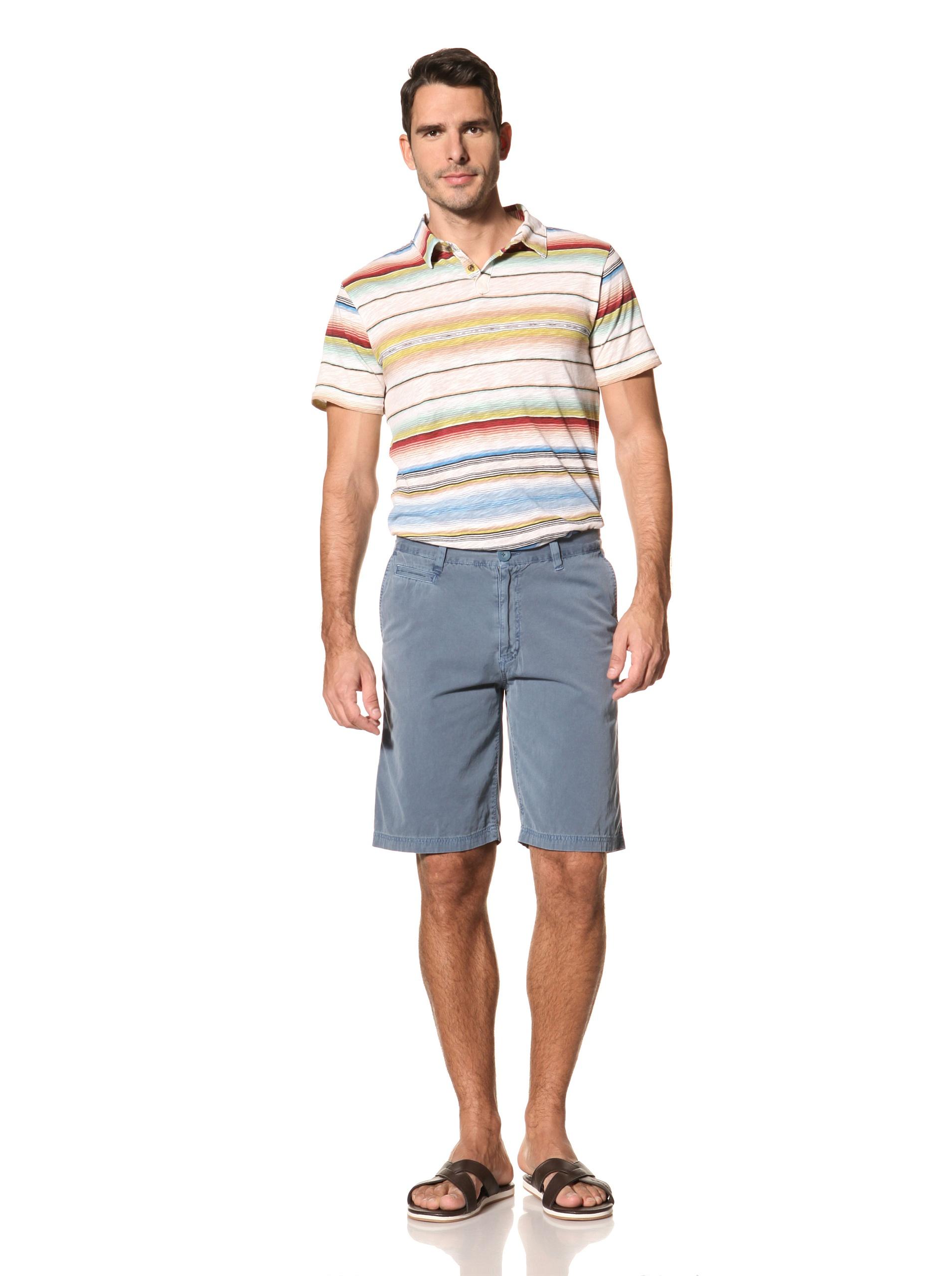 nüco Men's Canvas Club Shorts (Dark Teal)