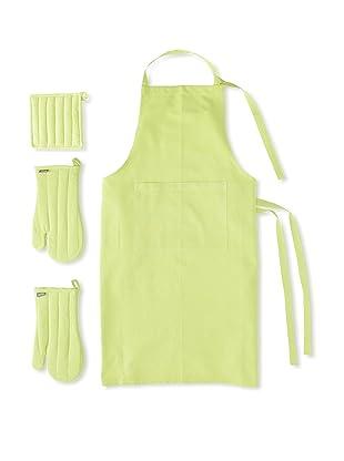 Winkler Apron Trend Kitchen Set (Kiwi Green)