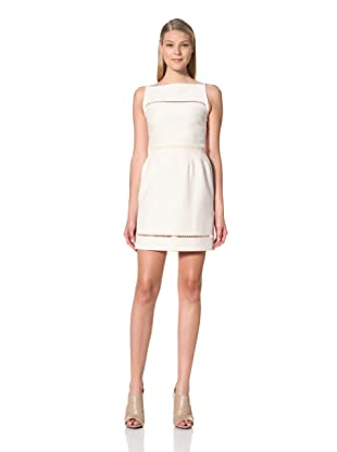 MARTIN GRANT Women's Day Bell Skirt Dress (Ecru)