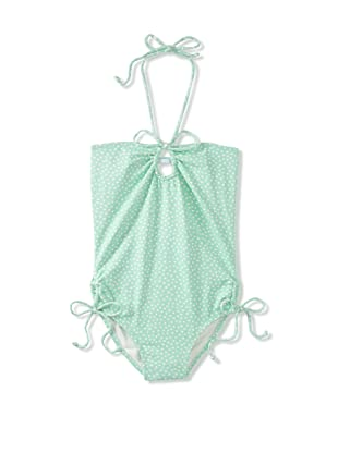 Eberjey Mini Girl's Grace Confetti Girl Swimsuit (Jade)