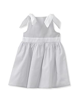 Je suis en CP! Nouette Dress (Grey Organdi)