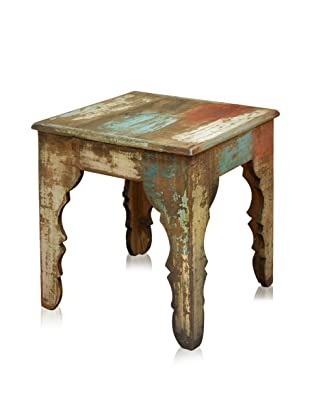 Reclaimed Wood Furniture Bombay End Table