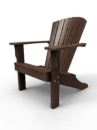 Malibu Outdoor Furniture Hyannis Adirondack Chair (Dark Brown)