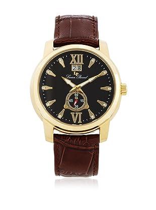 Lucien Piccard Men's A2203YL Alpha Brown Textured Dial Watch