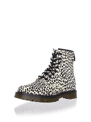 Dr. Martens Women's 1460 8-Eye Boot (White Topos)