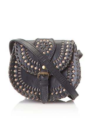 Cleobella Women's Cantina Eyelet Mini Cross-Body, Black