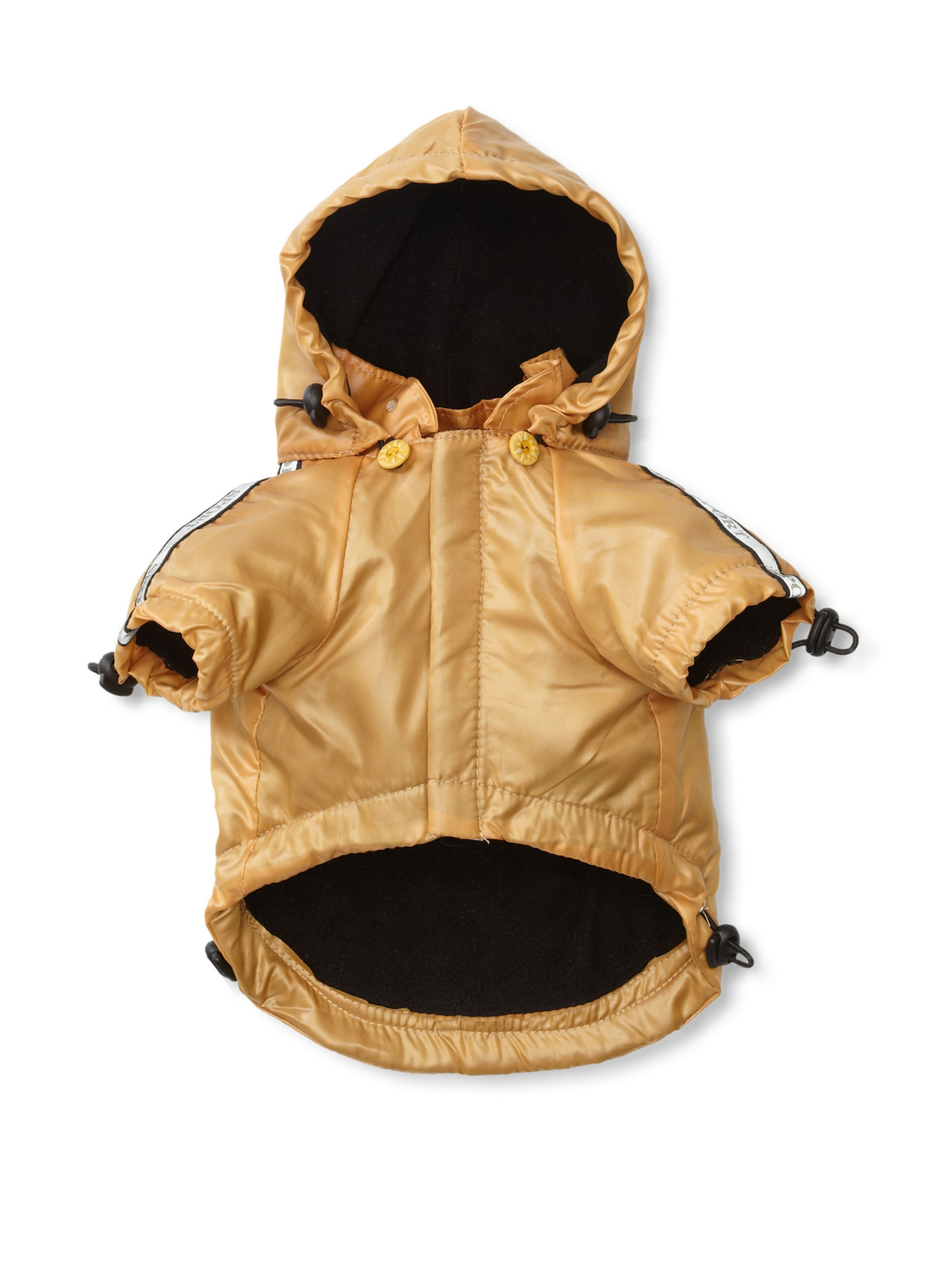 Pet Life Reflecta-Sport Rain Jacket and Windbreaker (Sporty Yellow)