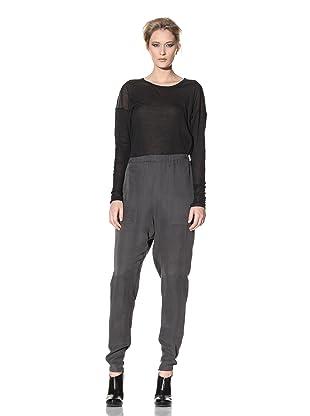 Haider Ackermann Women's Harem Trousers (Anthracite)