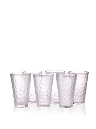 Impulse! Set of 6 Dwell Tumblers, Clear, 17.5-Oz.