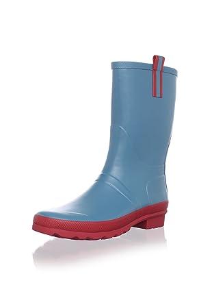 Cougar Women's Juno Rain Boot (Blue Moon/Red)