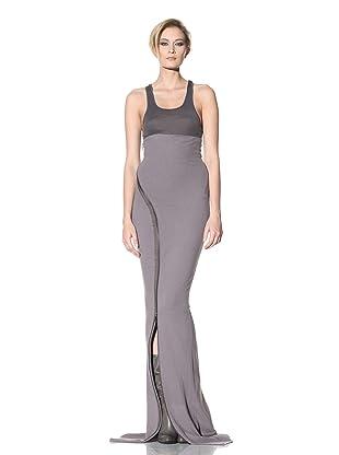 Haider Ackermann Women's Long Zip Skirt (Smoke)