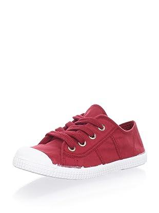 Cienta Kid's Classic Sneaker (Burgundy)
