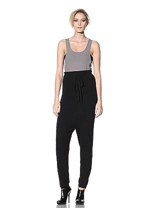 Haider Ackermann Women's High-Waisted Trousers (Black)