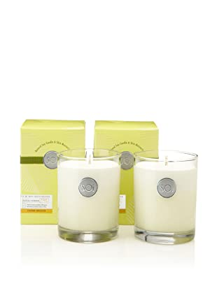 The SOi Company Set of 2 Crème Brulee 13.5-Oz. Luxe Boxed Highball Candles