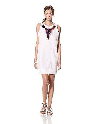 MARNI Women's Sleeveless Shift Dress (White)
