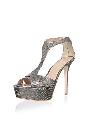 Pour La Victoire Women's Ilena Platform Sandal (Pewter)
