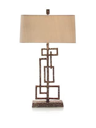 John-Richard Collection Geometric Sculpture Table Lamp