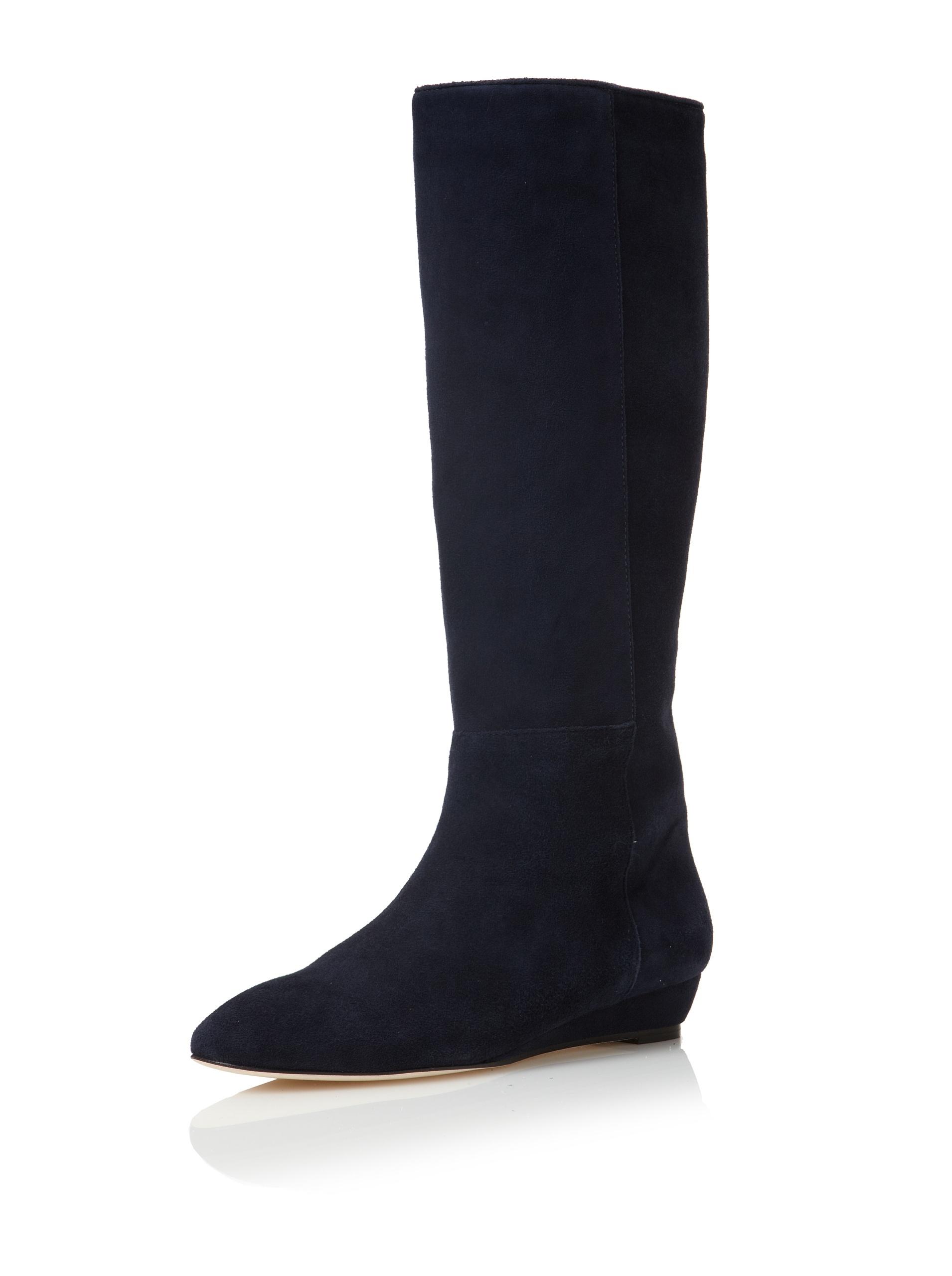 Loeffler Randall Women's Matilde Flat Boot (Navy)
