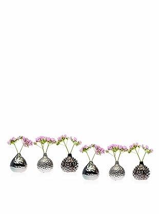 Chive Set of 6 Gourd Vases