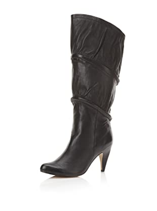 Messeca Women's Seena Three-Way Boot (Black Leather)