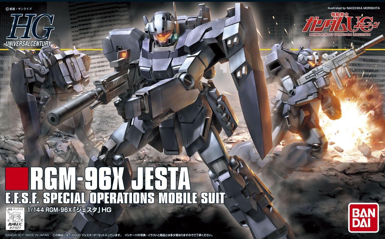 HG RGM-96X 杰斯塔(1:144)