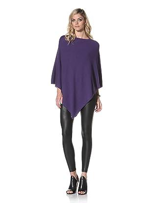 +Beryll Women's Cashmere Poncho (Purple)