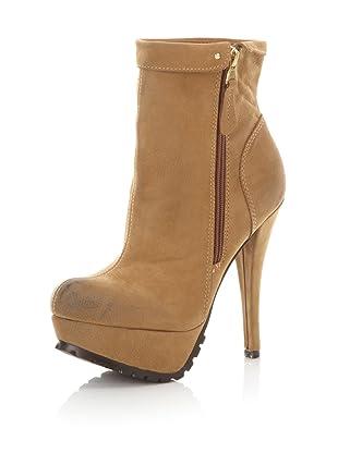 Kelsi Dagger Women's Shaina Ankle Boot (Luggage)