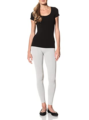 Cosabella Women's Smooth Free Cap Sleeve Top (Black)