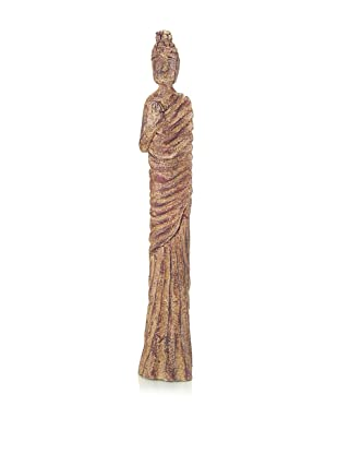 John-Richard Collection Hand-Carved Buddha