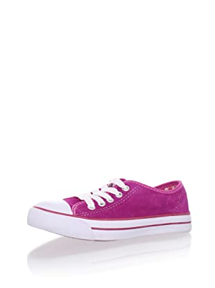 Pampili Kid's Suede Sneakers (Pink)