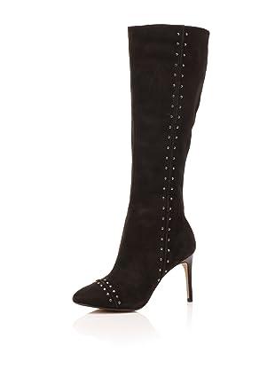 Maxstudio Women's Liberia Knee-High Boot (Black)