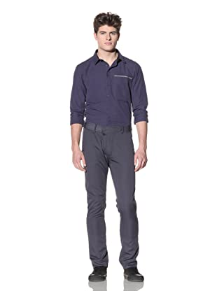 ZAK Men's Lightweight Straight Pant (Faded Blue)