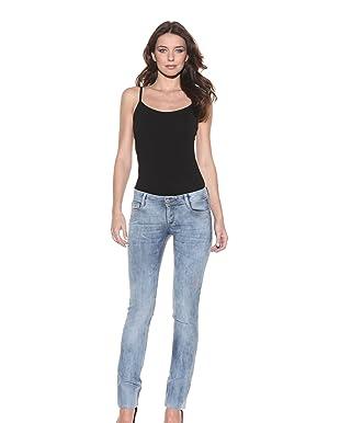 DL 1961 Premium Denim Women's Tory Slim Straight Jean (Laguna)