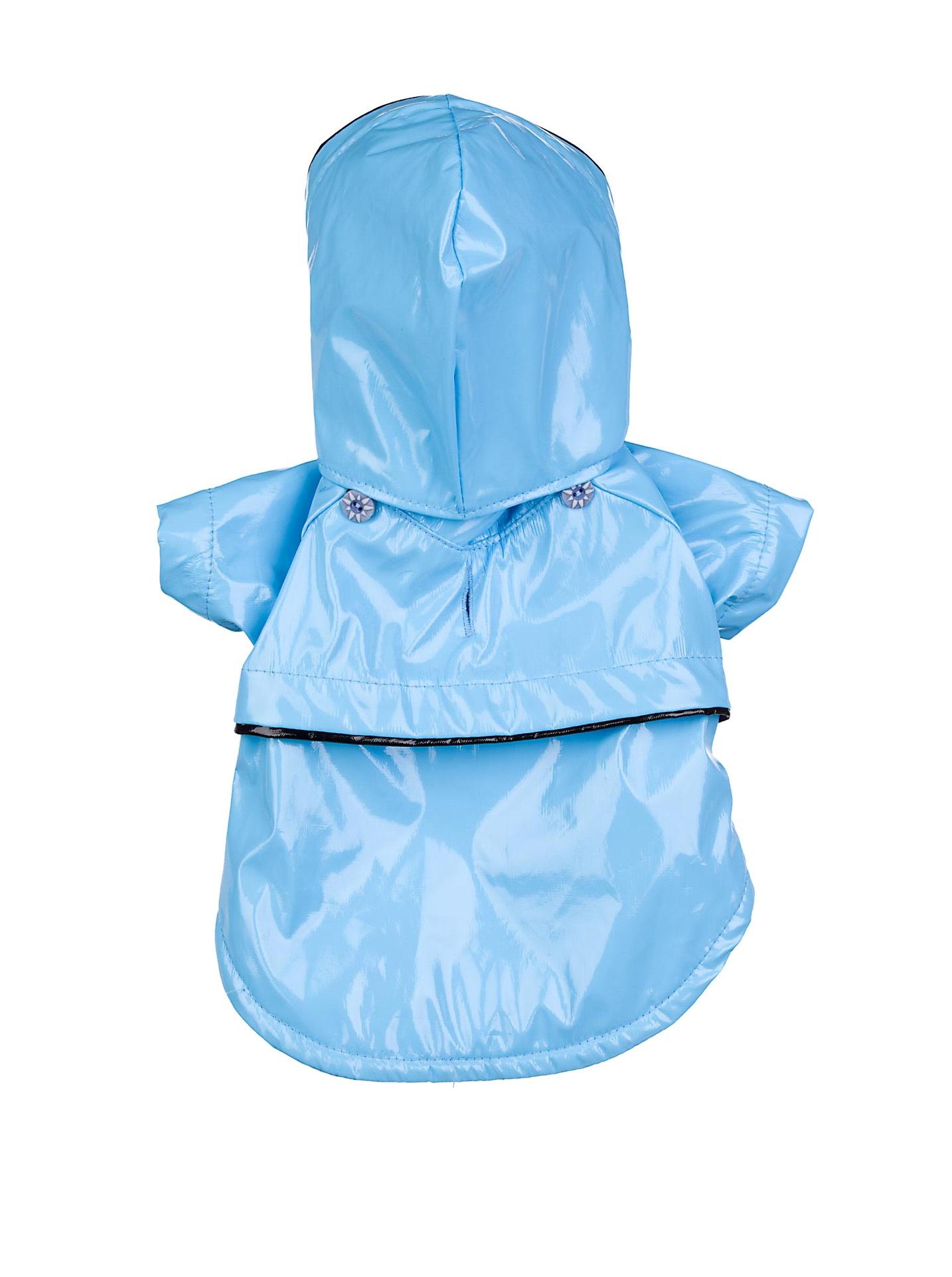 Pet Life Two-Tone PVC Raincoat