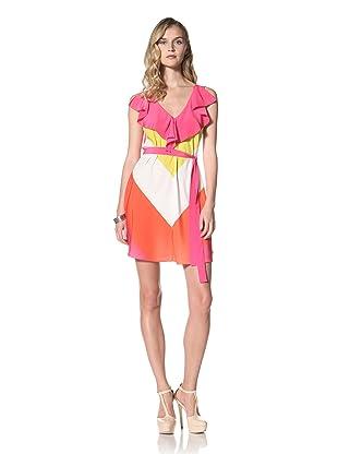 Yoana Baraschi Women's Ruffle Tank Dress (Strawberry/Multi)