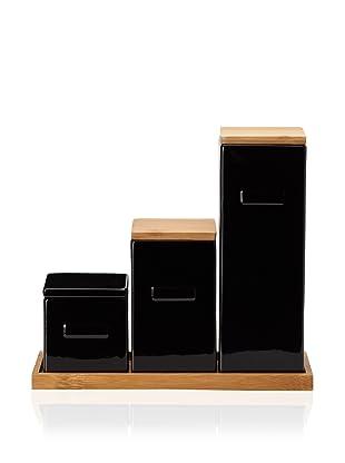 CULT DESIGN Box Leaf Kitchen Set (Black)