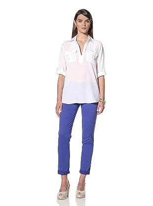 Acrobat Women's Cargo Pocket Shirt (White)