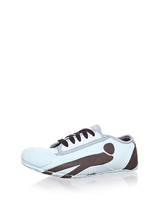 Cushe Women's Pimp Sneaker (Blue/Brown)