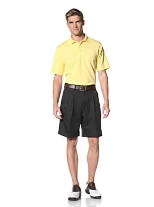 PGA Tour Men's Solid Polo (Aspen Gold)