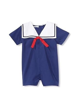 Bebe Mignon Baby Romper (Navy)