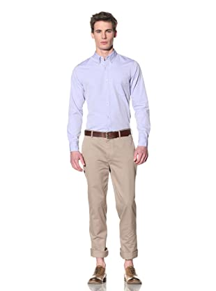 Onassis Men's Greenwich Regular Fit Chino (Khaki)