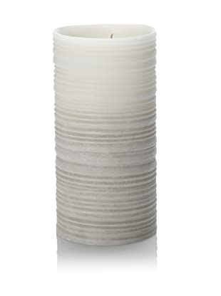 Barclay Butera Seaside Silk Texture Tall Luminary Candle (Grey)