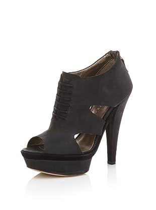HK by Heidi Klum Women's Georgette Platform Sandal (Black)