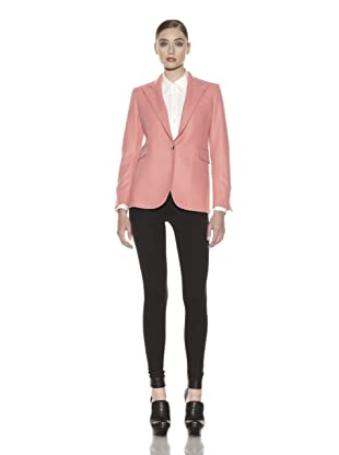 Costume National Women's Wool Blend Jacket (Pink)