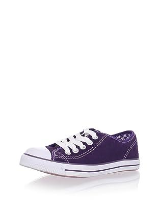Pampili Kid's Suede Sneakers (Purple)
