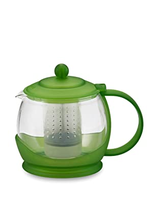 BonJour 40-Oz. Prosperity Glass Teapot (Peridot Green)