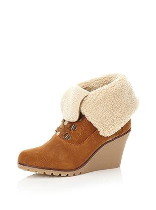 Kelsi Dagger Women's Francille Faux Shearling Boot (Cognac)
