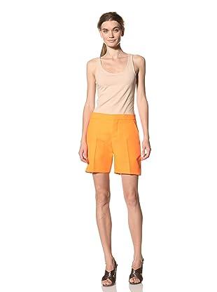 MARNI Women's Flat Front Short (Orange)