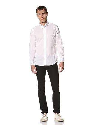 Brent Wilson The Basics Men's Soft Summer Voile Shirt (White)