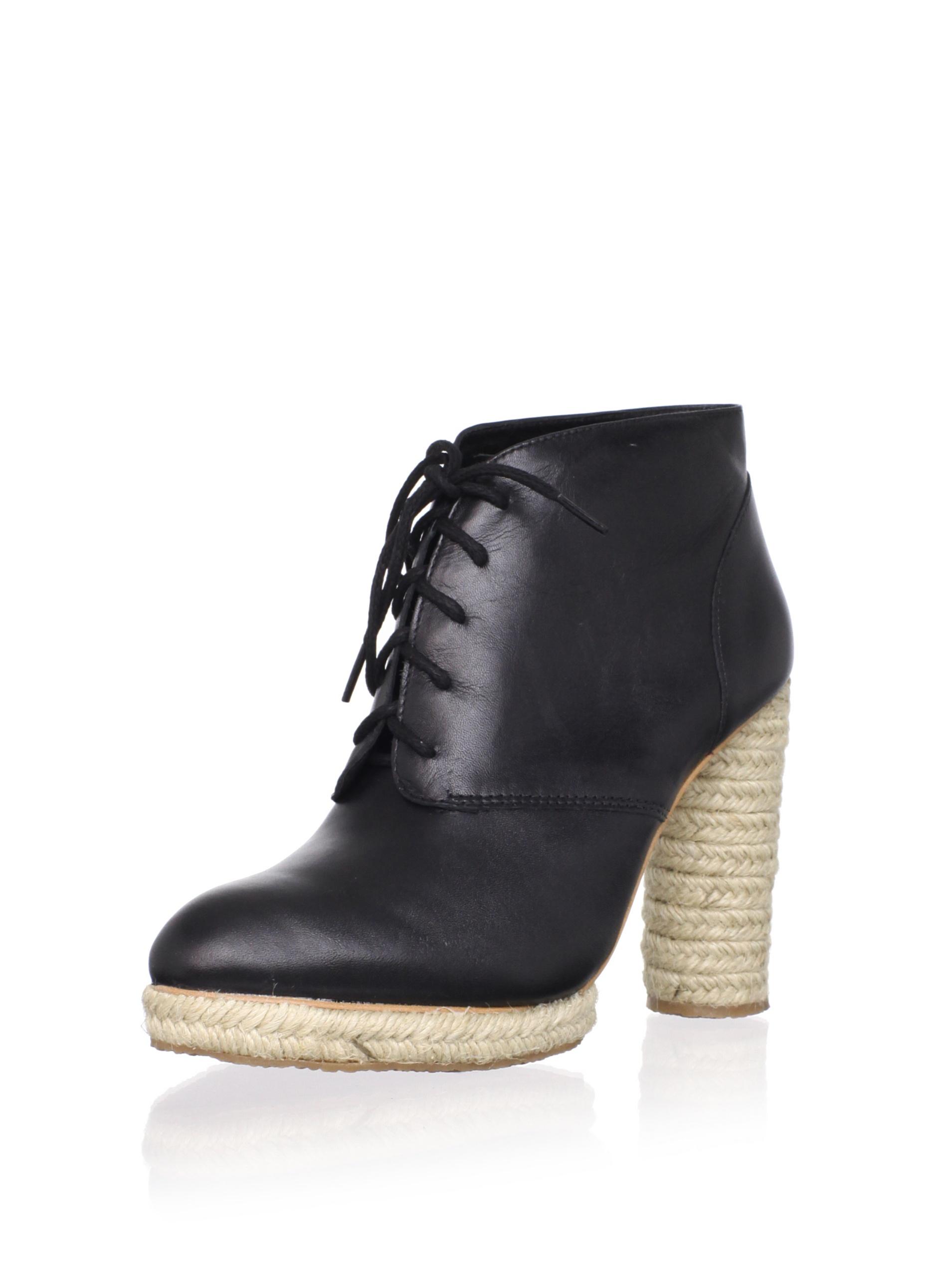 Loeffler Randall Women's Nadia Espadrille Ankle Boot (Black)